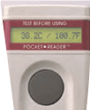 体温計測定機能