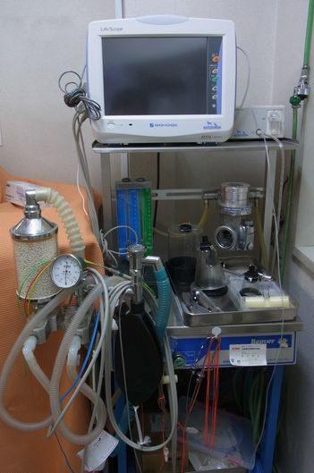心電図・麻酔器